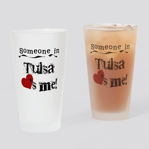 Tulsa Loves Me Pint Glass